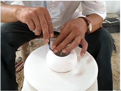 匠人匠心,大师风范 罗梦林手绘限量版珍藏级瓷壶